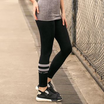 Sports Stretch Yoga Pants Gym Quick Dry Slim Jogging High Waist Skinny Pants [421994397725]