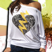 Broken Heart Shirt by DCApparelLine on Etsy