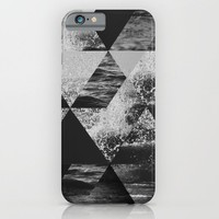 Abstract Sea iPhone & iPod Case by Cafelab
