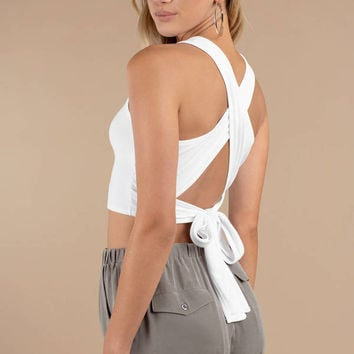 Knot Now Ribbed Tank Top