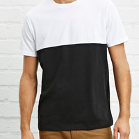 Colorblock Knit Tee