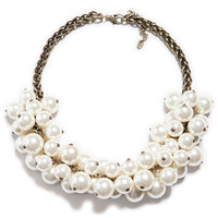 ZARA Maxi Pearl Statement Necklace
