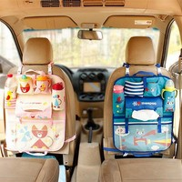 Cartoon Car Seat Organizer Thermal Insulated