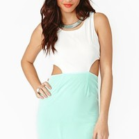 Cutout Dress - Julep