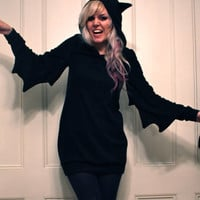 Bat Dress MADE TO ORDER by imyourpresent on Etsy