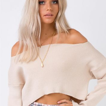 Dark Highway Jumper Beige