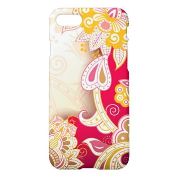Stunning Floral Design iPhone 7 Case