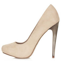 STEEL Metal Heel Court Shoes - New In This Week  - New In