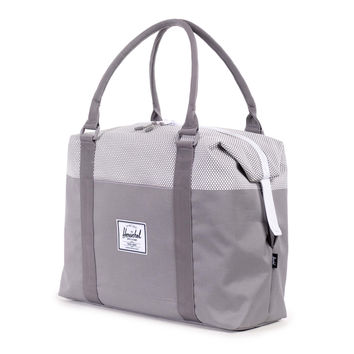 Herschel Supply Co.: Strand Duffle Bag - Grey Micro Polka Dot