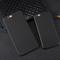 Black ultra-thin mobile phone case for iPhone X 7 7plus 8 8plus iPhone6 6s plus -171031