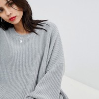 Micha Lounge Ribbed Oversized Jumper at asos.com