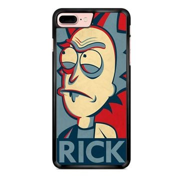 Rick And Morty In The Style Of Shepard Rick iPhone 7 Plus Case