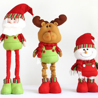 Special Santa Claus Snow Man Reindeer Doll Christmas Decoration Christmas Tree Hanging Ornaments Pendant Christmas Gift [9601215951]