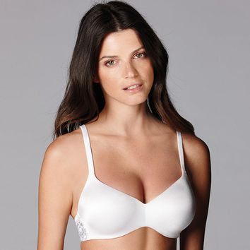 Simply Vera Vera Wang Bra: Shimmering Comfort Wireless Full-Coverage Bra