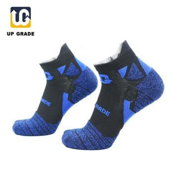UG UPGRADE 5Pairs/Lot Man Woman Runing Socks Breathable Outdoor Sports Hiking Camping Trekking Sky Cycling Running Compression