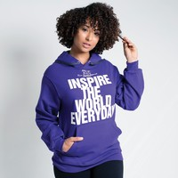 Inspire the World Pullover Hoodie