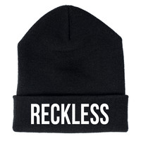 NEW - Young and Reckless BASICK BEANIE - MENS