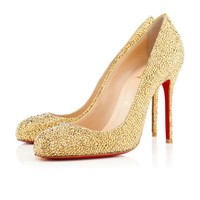 FIFI STRASS, Strass, Or, Souliers pour femme