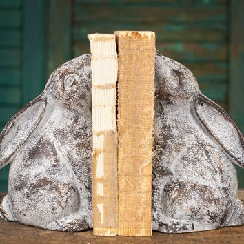 Bunny Bookends  - *FREE SHIPPING*