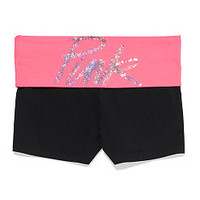 Bling Yoga Shortie - PINK - Victoria's Secret