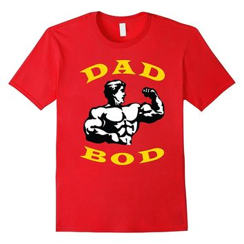 Mens Fathers Day Shirt | Dad Bod T-Shirt | Funny Gym Shirts