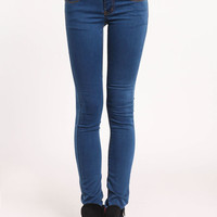 HIGH RISE BUTTONED JEANS