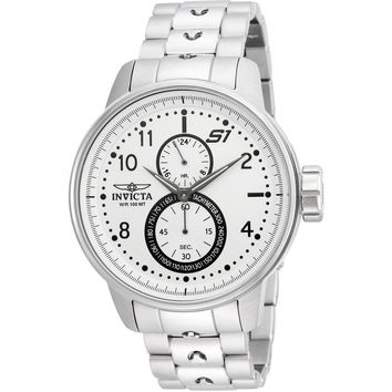 Invicta Men's 23059 S1 Rally Quartz Multifunction Silver Dial Watch