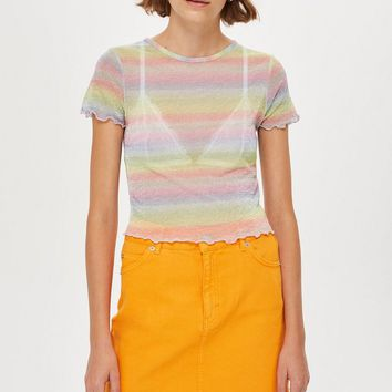 Pastel Rainbow T-Shirt - T-Shirts - Clothing