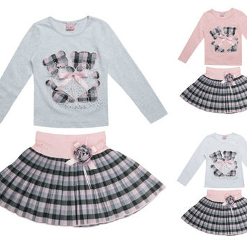 Girls Beautiful Occasion Long Sleeve Outfit Set
