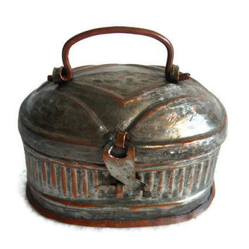 Antique Curio Turkish Bath House Copper From Cabinetocurios On