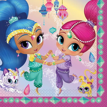 Shimmer and Shine Luncheon Napkins [16 per Pack]