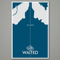 "Doctor Who Poster: The Girl Who Waited - 11""x17"" Science Fiction Art Print"