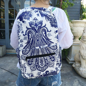 Travel backpack Canvas Hipster backpack purse, Backpack diaper bag, Hobo backpacks, Rucksack backpack, Travel backpack, school backpack.