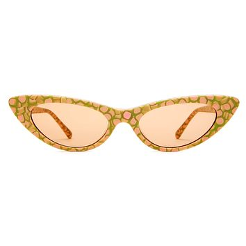 Crap Eyewear - Ultra Jungle Pink Ambrosia Sunglasses / Orange Tint Lenses