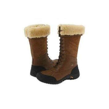 DCCKIN2 Ugg Boots Uk Adirondack Tall 5498 Chestnut For Women 122 77