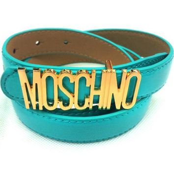 One-nice™ MOSCHINO letters Belt fashion wild candy candy belt