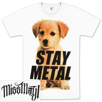 Miss May I Puppy T-Shirt