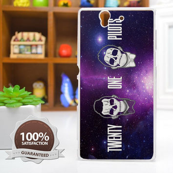 Twenty One Pilots 21 Pilots Head Galaxy Phone Case For iPhone, Samsung Galaxy, and Sony Xperia