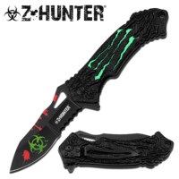 Lime Green Zombie Knife