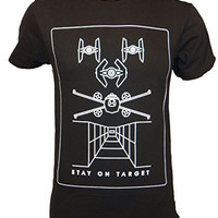 Star Wars Stay On Target Pictogram X-Wing T-shirt