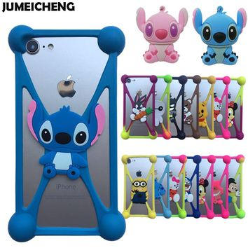 New 3D Cartoon Minions Stitch Sulley Silicone Case For UleFone Power/Power2/Power3 3S/Mix/Mix2/Tiger/Tiger X/Armor 2 2S Cover