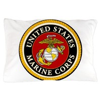 U.S. Marine Corps Pillow Case
