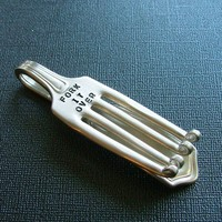 Fork It Over Money Clip by SpoonerZ on Etsy