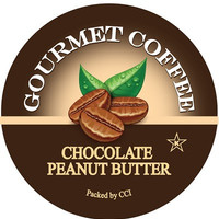 Chocolate Peanut Butter Coffee, Single Serve Cups for Keurig K-cup Brewers, 24 Count