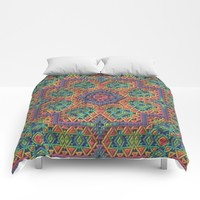 Intricate Pattern Comforters by Lyle Hatch