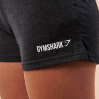 Gymshark Slouch Shorts - Charcoal Marl