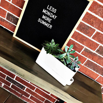 Felt Letter Board|12x18 Oak Frame Letter Board|10x10 Grey Black White Felt Letter Board with Letters|16x20 Felt Message Board|Felt Sign