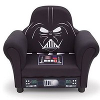 Delta Children STAR WARS CHAIR, Hardwood Frame Upholstered DARTH VADER CHAIR