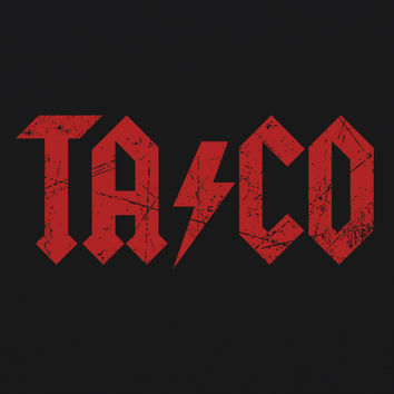 AC/DC Taco WOMENS T-Shirt by Craft Brewed Clothing
