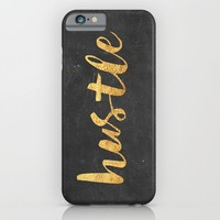 Hustle iPhone & iPod Case by Text Guy